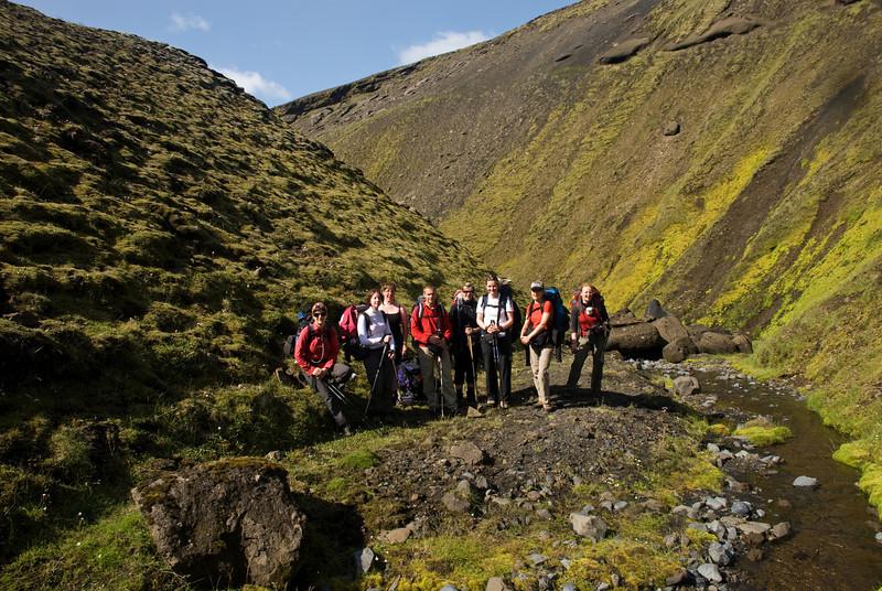 Þorbjörg, Amandine, Erna, Pierre, Álfhildur, Magnea, Ragnheiður og Berglind