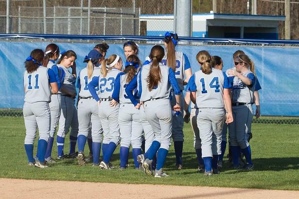 DHS Girls Softball 04-28-2015