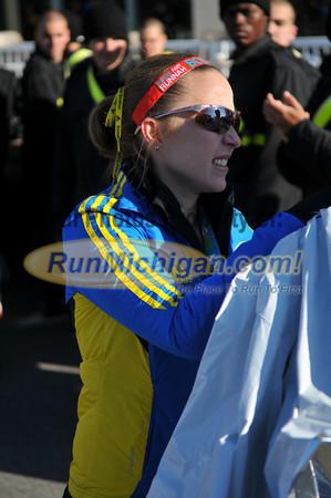 Half Marathon Finish Line - 2013 Lansing Marathon/Half Marathon