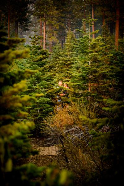 Amanda and AJ Tahoe Engagement