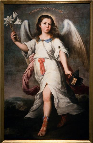 Archangel Gabriel, by Alonso Miguel Tovar (18th century), Fine Arts Museum, Seville, Spain