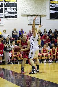 1/6/2014 Eaton Varsity Girls Basketball vs Valley