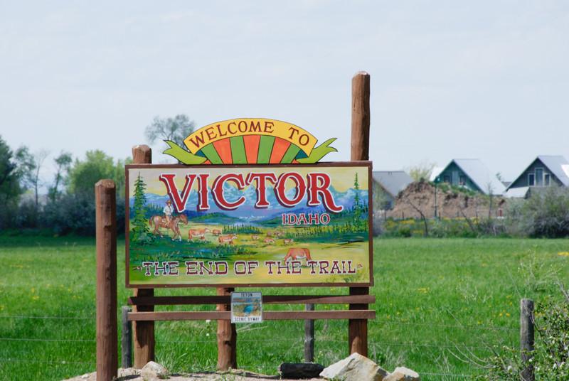 Welcome to Victor, Idaho!