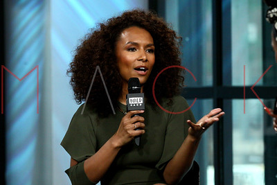"""NEW YORK, NY - JUNE 14:  Janet Mock visits Build Studio discussing her book """"Surpassing Certainty: What My Twenties Taught Me"""" at Build Studio."""