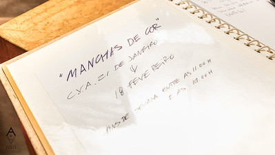 """0121 Inauguração """"Manchas de Cor"""""""