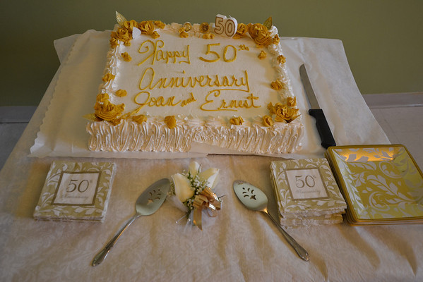 Joan and Ernest's 50th Wedding Anniversary Surprise Party