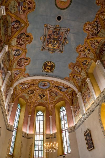 Spaziergang in Ljubliana: Im Innern der Kapelle der Burg von Ljubliana