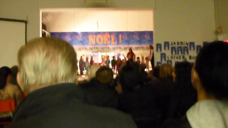 2012-Dec: Josee's Christmas Concert