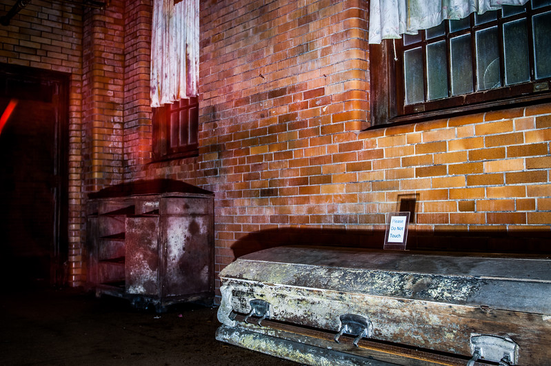 The morgue in the medical building
