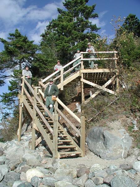 2005 - Pretty Marsh Stairs Crew