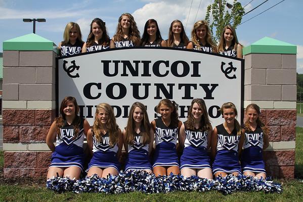 Cheerleaders - Middle School