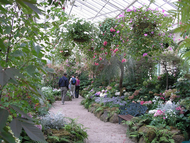 Conservatory in Fitroy gardens