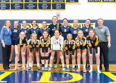 Volleyball: James Wood vs. Loudoun County 11.6.14 (by Chas Sumser)