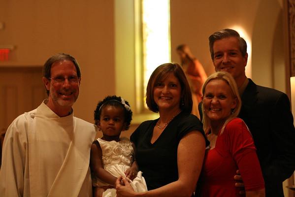 2011 Katy's Baptism