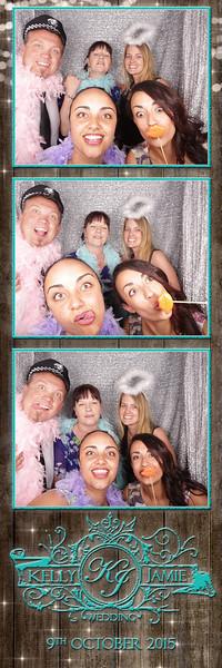 Kelly & Jamie's Wedding Photostrips