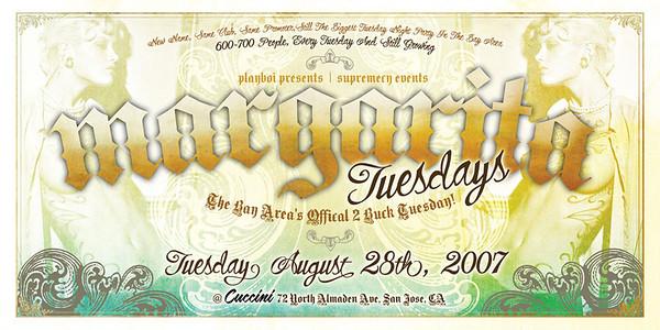 Playboi Presents Margarita Tuesdays @ Cuccini 9.11.07