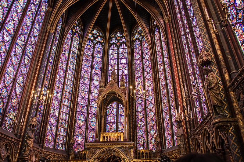 Paris, Saint Chapelle Church