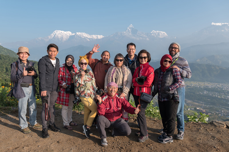 Tour foto Nepal 2018