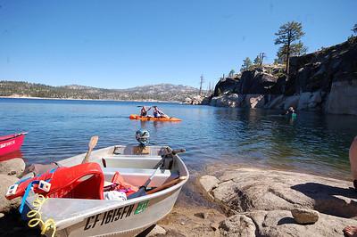 Spicer Meadows Canoe Trip