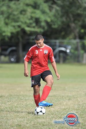 BU17 Red - FC America Boys Premier Black - Clay County Boys