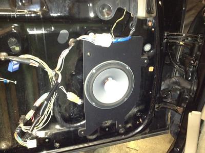 1992 Lexus SC300 Auto Front Speaker Installation
