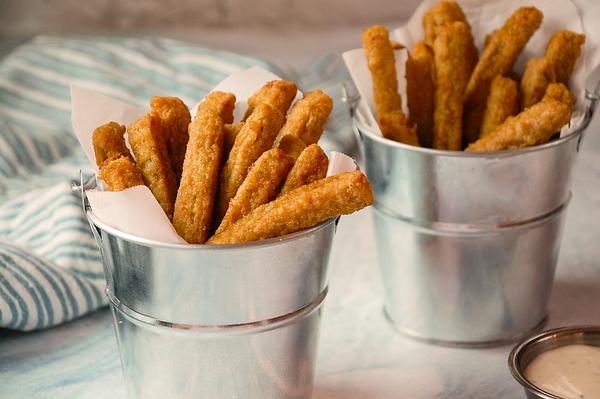 Veggie Rings and Fries