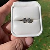 1.70ctw Old European Cut Diamond Clover Stud Earrings, GIA H-I SI 9