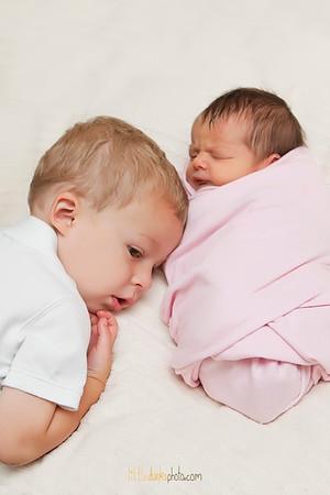 Baby Lila-4 days-6.8.12