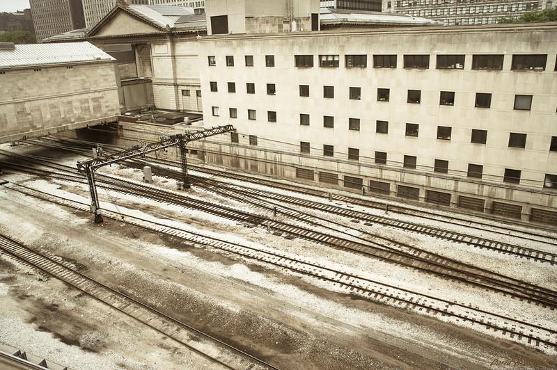 Empty Train Yard