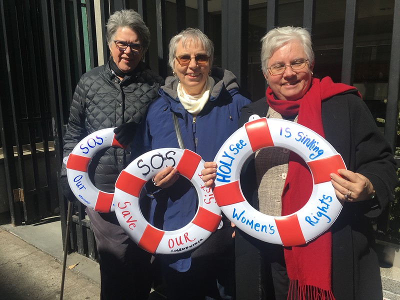 The Holy See: Sinking Women's Rights & Rites Witness
