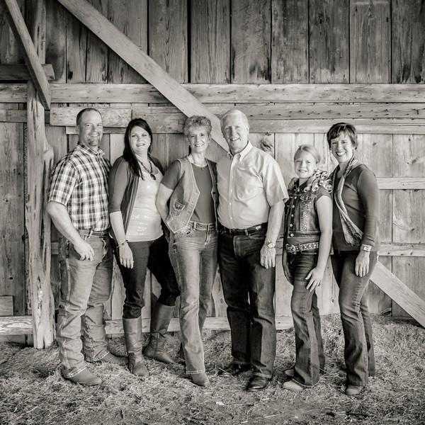 Huston Family Portraits