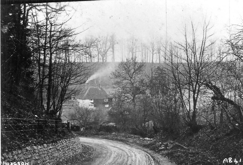 Approaching Hodson Bottom  c1880