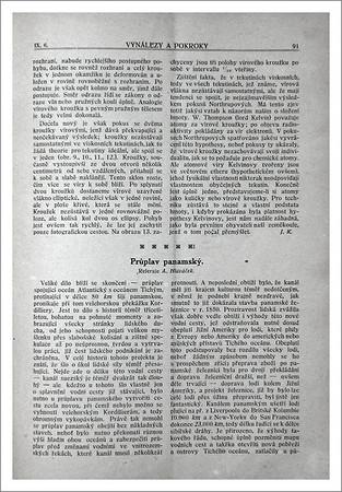 Vynálezy a pokroky 1913