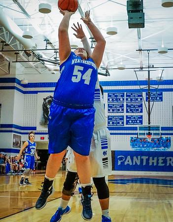 Lady Panthers Varsity vs  Weatherford 01-12-16-24