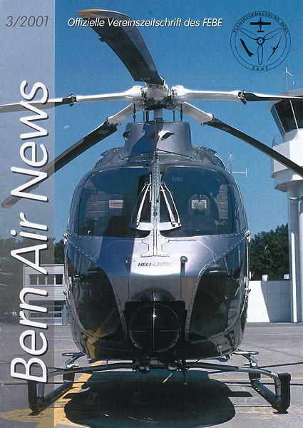 FEBE Bern Air News - Magazine Cover No.3 2001