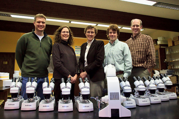 New Dissecting Scopes (4.29.10)