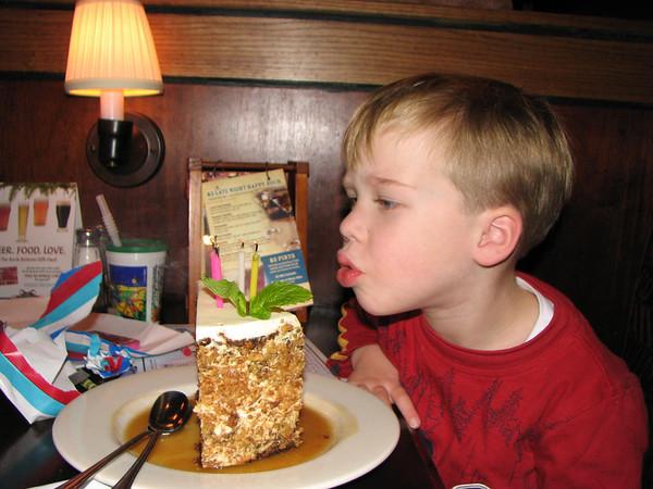 Luke's 5-Year Birthday!