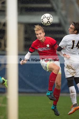 Varsity Soccer Regional - Trenton at Mason