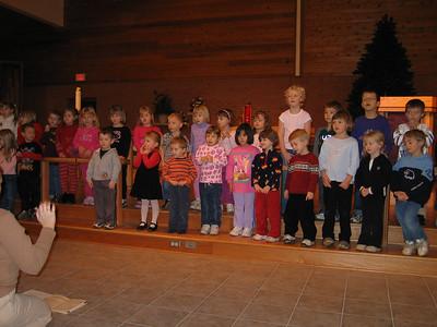 2004 Dec - Singing