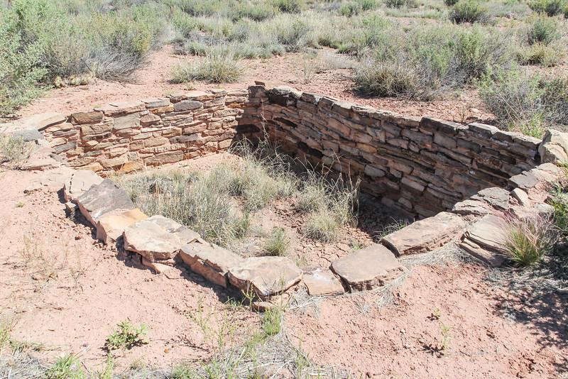 Puerco Pueblo - Petrified Forest (1250-1380 CE)