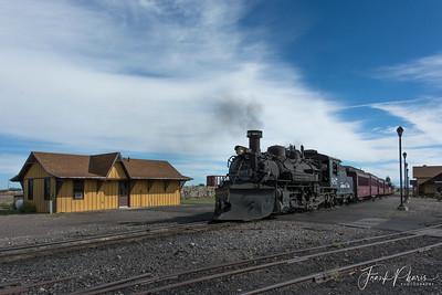 Cumbres and Toltec Scenic Railroad.