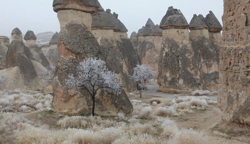 Frosty Morning, Cappadocia