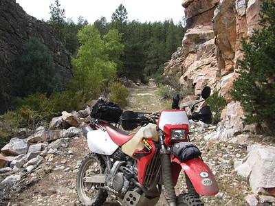 Tusas Ridge-Kiowa Lookout-Ortega Mountains DS Ride  9-24-12