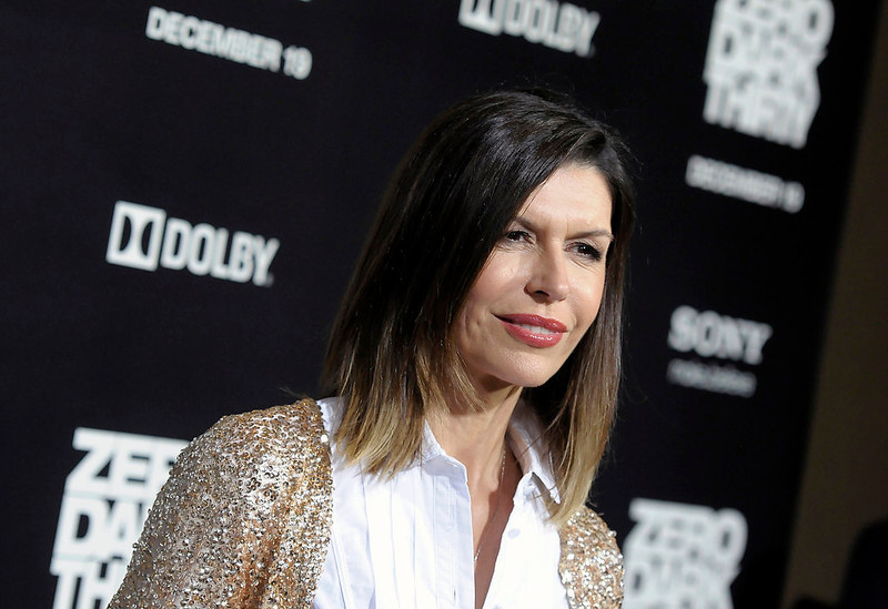 ". Actress Milla Jovovich arrives at the premiere of the feature film ""Zero Dark Thirty\"" at the Dolby Theatre in Los Angeles on Monday, Dec. 10, 2012. (Photo by Dan Steinberg/Invision/AP)"