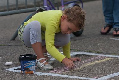 Straattekenwedstrijd Biest 2011