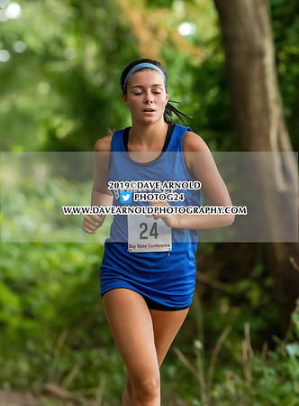 9/11/2019 - Girls Varsity Cross Country - Braintree, Needham, Walpole