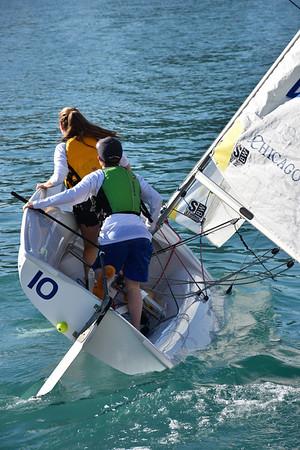 2018 High School Juniors Sailing Practice