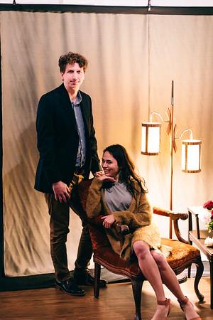 Alex & Javin, photobooth-esque