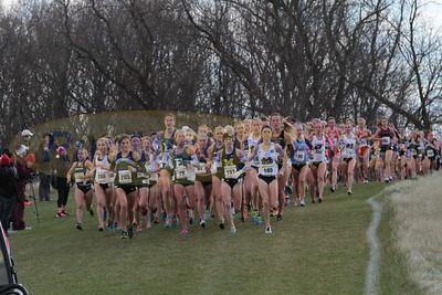 Womens 6K @ 1200m - 2015 NCAA D1 XC Great Lakes Regional
