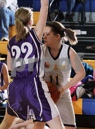 2012 Coudersport Girls Jr. High Basketball @ Northern Potter
